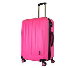 Packenger Koffer Velvet XL Magenta