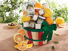 Down Memory Lane | #Gourmet Fruit #Gift #Basket - Hale Groves
