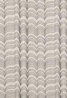 Schumacher Fabric RICHTER-BLACK   100% Linen   Studio Bon