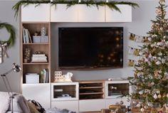 IKEA | Bestå Storage - Media Center [Sunroom TV Wall]
