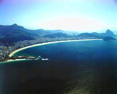 Praia de Copacabana (Aérea)