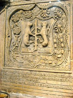 On the right of a fire-place in the Tower of London is an elaborate piece of carved graffiti concerning the five Dudley brothers: Ambrose (created Earl of Warwick 1561), Guildford (beheaded 1554), Robert (created Earl of Leicester 1563), and Henry (killed at the siege of St. Quintin, 1558), and John (called Earl of Warwick), who died in 1554. John is presumed to have been the carver.