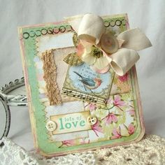 lots of love...would require adapting for stampin up products