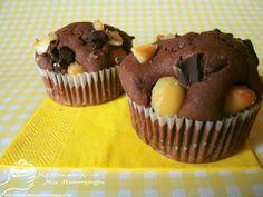 Miss Blueberrymuffin's kitchen: Schokoladen-Macadamia-Muffins