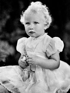 Royal Family Baby Photos.....Princess Anne.........Anne, Princess Royal, is Queen Elizabeth II and Prince Philip's only daughter. Born on Aug. 15, 1950, Anne was initially third in line to the throne, but after a few marriages, children and other shifts in the royal hierarchy, she is now 10th in line for the throne.