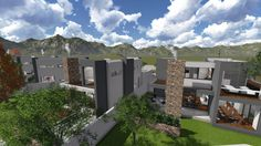 Earp Construction develops and sells properties in George on the Garden Route in South Africa. There are a range of design styles and sizes to suit your budget. Earls Court, Open Plan, Property For Sale, South Africa, The Unit, Mansions, Lifestyle, House Styles, Modern