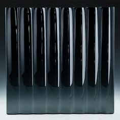 Cathedral Black Glass produced by Nathan Allan Glass Studios Architectural Pattern, Architectural Features, Channel Glass, Kiln Formed Glass, Cast Glass, Amazing Transformations, Cleaning Materials, Glass Material, Glass Design