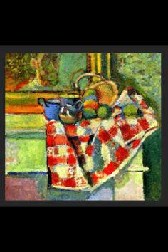 """Henri Matisse - """"Nature morte à la nappe"""", 1903 - Huile sur toile - 52 x 55 cm (*)"""