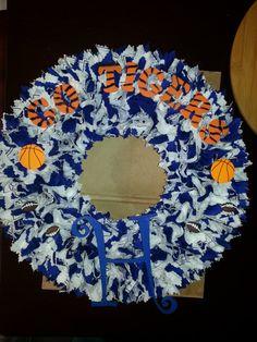 Memphis Tigers Wreath by WreathsbySusan on Etsy, $65.00