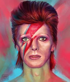 Good Bye my Friend David Bowie Tribute, David Bowie Art, Patrick Seymour, Glam Rock, Hayao Miyazaki, Learn Drums, David Bowie Fashion, Bowie Tattoo, Ziggy Played Guitar