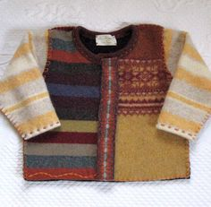 NATHANIEL Felted Toddler Sweater made from by heartfeltbaby, $75.00