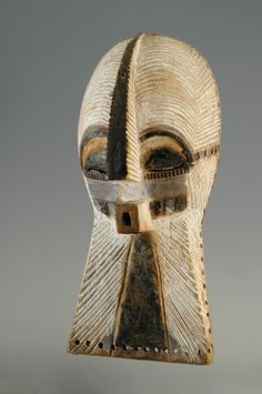 VMFA Luba culture Female Kifwebe Mask Gift of Robert and Nancy Nooter