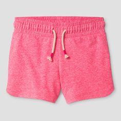 Girls' Knit Pull On Shorts Cat & Jack - Pink Xxl, Bali Pink