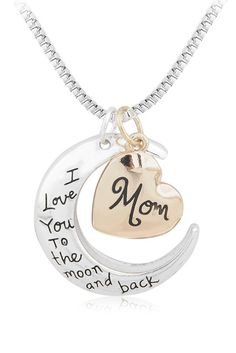 Necklaces for Moms. Cute Mother's Day Gift. Get Yours Here: http://owlj.com
