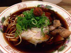 ソラノイロs&m 麹町 肉そば+生七味唐辛子 2014/02/20