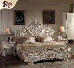2018 French Rococo Classic European Furniture Solid Wood Baroque in European Furniture Classic Bedroom Furniture, Rococo Furniture, Antique French Furniture, European Furniture, Top Furniture Stores, Cheap Furniture, Home Furniture, Furniture Design, Furniture Buyers