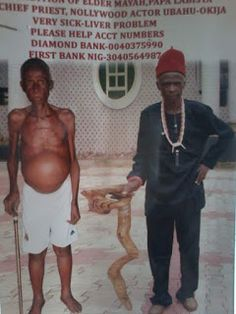Veteran Nollywood Star Actor In Pathetic State; Seriously Sick (See Photos)