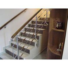 Balustrade din inox cu lemn - Bucuresti - Prod Inox Construct, ID: 8075963 Stairs, Construction, Home Decor, Building, Stairway, Decoration Home, Room Decor, Staircases, Home Interior Design