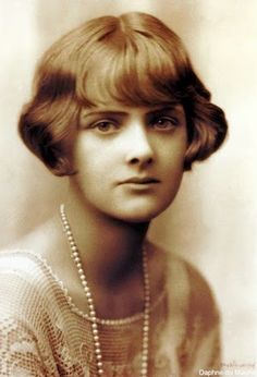 Daphne DuMaurier, a favorite author of Jamaica Inn, Birds, Rebecca, and many others...