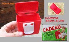 La BN box. La petite boite qui se clipsé à la ceinture et qui permettait d'emmener à l'école 2 BN pour le 4 heure.