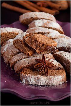 Piernikowe ciasteczka (biscotti) - I Love Bake Sweet Little Things, Cannoli, Holiday Baking, Biscotti, Truffles, Cookie Recipes, Xmas, Christmas, French Toast