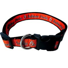 Baltimore ORIOLES MLB Nylon Collar