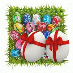 animated free gif: eggs beating happy easter 3d gif animated ecards photo graphic clipart decoration ideas for banner websites blogs free do...