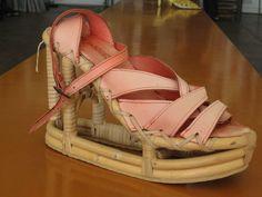 Jan Jansen bamboo sandal