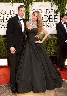 Nick Loeb & Sofia Vergara | The 23 Cutest Couples At The Golden Globes