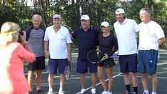 The Winter Olympic Games are fast approaching, but the folks in Palm Beach County have a completely different idea of what winter sports are. The inaugural Palm Beach Winter Games kicked off on Saturday on the clay courts.Golf legend Greg Norman was one