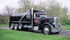 Peterbilt Dump Trucks, Peterbilt 359, Mack Trucks, Lifted Trucks, Big Trucks, Semi Trucks, Equipment Trailers, Logging Equipment, Custom Big Rigs