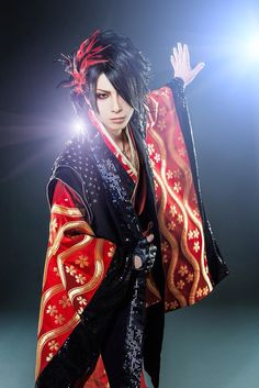 visual kei enka singer TSUKASA only one in the world!