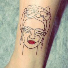Frida Kahlo Tattoos | POPSUGAR Latina