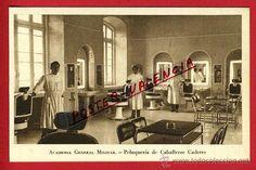 Postales: POSTAL ZARAGOZA, ACADEMIA GENERAL MILITAR, PELUQUERIA DE CABALLEROS CADETES, P97950 - Foto 1 - 48403210