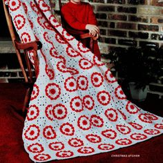 Vintage Crochet Pattern PDF for Christmas by PastPerfectPatterns, £1.75