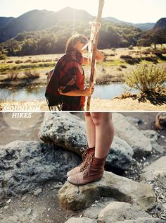Hiking is a must, and these boots are perfect for it.