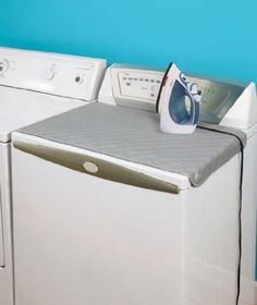 Amazon.com: Magnetic Ironing Mat: Home & Kitchen. Magnetic Ironing Mat, turns your washer/dryer into an ironing board, then folds up after. Space saving item!