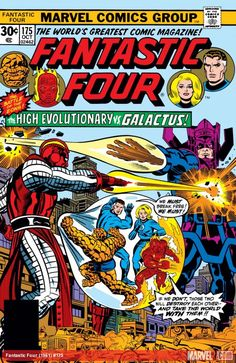 """Fantastic Four #175 October 1976 Written by Roy Thomas Art and Ink by John Buscema Cover by Jack """"King"""" Kirby"""