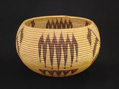 Washoe Native American Indian Baskets, Basketry - Gene Quintana Fine Art - Indian Baskets