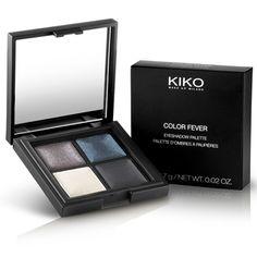 Palette d'Ombres à Paupières Cuites : Color Fever Eyeshadow Palette - KIKO Make Up Milano - Unexpected Rosy Taupe