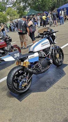 Ideas For Scrambler Motorcycle Yamaha Cars Suzuki Motos, Moto Suzuki, Suzuki Bikes, Suzuki Motorcycle, Suzuki Gsx, Suzuki Cafe Racer, Ducati, Xjr 1300, Custom Sport Bikes