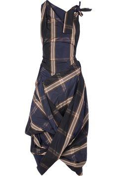 I love this tartan dress!