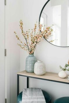 50 Simple DIY Apartment Decoration On A Budget Whether this is your very first a. - 50 Simple DIY Apartment Decoration On A Budget Whether this is your very first apartment or you& - Decoration Hall, Apartment Decoration, Entryway Decor, Entryway Ideas, Apartment Entryway, Hall Table Decor, Front Entry Decor, Hallway Entrance Ideas, Modern Entryway
