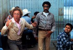 33.  'Stir Crazy' (1980) R -    Gene Wilder & Richard Pryor.  -  Skip and Harry are framed for a bank robbery and end up in a western prison. The two eastern boys are having difficulty adjusting to the new life until the warden finds that Skip has a natural talent for riding broncos with the inter-prison rodeo coming up.  -  COMEDY / CRIME  - © Everett Collection/REX