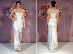 Claire Pettibone Kristene Wedding Dress. Claire Pettibone Kristene Wedding Dress on Tradesy Weddings (formerly Recycled Bride), the world's largest wedding marketplace. Price $3700.00...Could You Get it For Less? Click Now to Find Out!