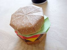 The origami burger is vegan all the way!