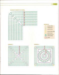 Cubrecama Con Cuadros A Crochet