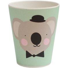 Eef Lillemor - bamboe beker koala - Lovely Animals #tableware #bamboo #kids #pastel #eeflillemor #littlethingz2