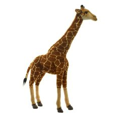 Turn playtime into a wildlife adventure with this realistic giraffe plush that snuggles little ones with its cozy design. Sports Toys, Plush, Animals, Stuffed Toy, Snuggles, Puppets, Link, Products, Awesome