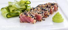 Tonijn tataki met sesamkorstje - Leuke recepten
